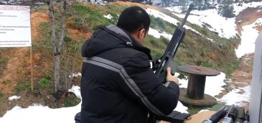 Otomatik Av Tüfeği Atış Denemesi